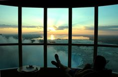 How relaxing and what a view!
