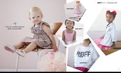 Cute as a button! Read our magazine to see all the cuteness! #spreekids #spreekidsmagazine #fashion #kids