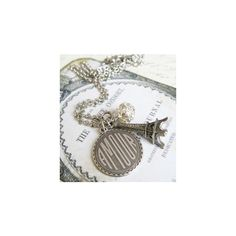 Rhinestone - The City of Love & Lights Necklace - Girlzlyfe.Com ❤ liked on Polyvore