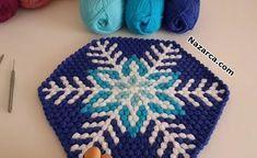 lif-modeli-kar-tanesi-deseni C2c Crochet, Crochet Crafts, Japanese Wine, Cool Yoga Poses, Knitting Stitches, My Design, Diy And Crafts, Tapestry, Quilts