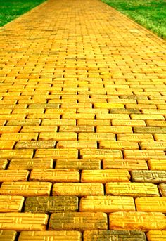 Yellow brick road   This is an Annie M's moment