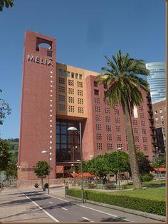Hotel Meliá Bilbao. Legorreta
