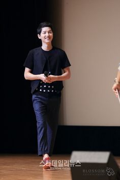 Song Joong Ki - fan meeting August 2013. Just prior to military service.