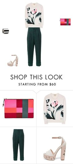 """""""Untitled #8128"""" by explorer-14576312872 ❤ liked on Polyvore featuring FOSSIL, Burberry, Marni, Chinese Laundry and Maria Dorai Raj"""