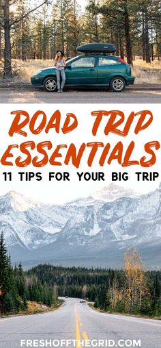 11 road trip essentials that you might not have thought of! After road tripping the US for over a year, these are our tried and true tips. Road Trip Packing List, Road Trip Games, Us Road Trip, Road Trip Essentials, Family Road Trips, Family Travel, Camping Guide, Camping Recipes, Camping Hacks