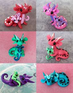 Mama Scrap Dragons by DragonsAndBeasties.deviantart.com on @deviantART