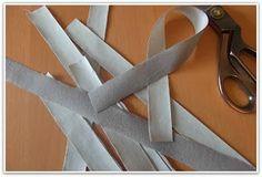 truco para cortar tiras al bies fácil