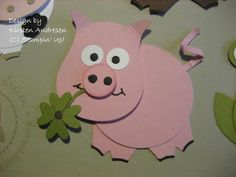 Heute gibt es noch mal ein paar Beispiele mit der Eulenstanze:    Glockenblume      Tulpe      Kuh      Pferd      Schwein   Die Tiere hatte...