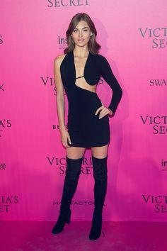 Victoria's Secret Fashion Show 2016 Red Carpet - Grace Elizabeth.