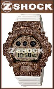 Custom G-Shock Watch with ZShock with chocolate diamond bezel and dial.  #zshock #watch #mensjewelry #gshock #casio