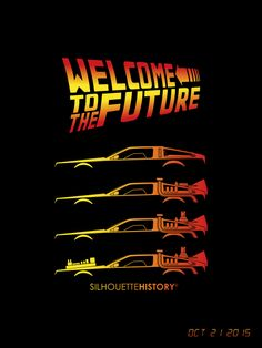 "silhouettehistory: "" Time Machine SilhouetteHistory Silhouettes of DeLorean DM. silhouettehistory: "" Time Machine SilhouetteHistory Silhouettes of DeLorean cars: stock, and Back to the Future I-II-III BTTF day is coming! Back To The Future Tattoo, Back In The Future, Thursday Humor, Throwback Thursday, Dmc Delorean, Action Movie Poster, Science Fiction, Future Wallpaper, The Royal Tenenbaums"