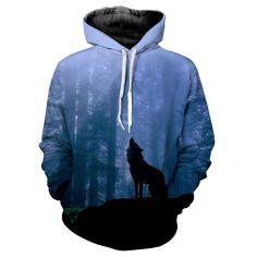 Wolf Hoodie 3D Full Printing //Price: $46.00 & FREE Shipping //     #hashirama #choji #kaguya #shikamaru #ino #hinata Wolf Hoodie, Hoodie Jacket, Printed Sweatshirts, Hooded Sweatshirts, Hoodies, Short Sleeve Hoodie, Urban Outfits, Portrait, Pullover