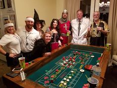 Guests enjoying craps at the casino night halloween party. Casino Night, Casino Party, Halloween Party Themes, Tucson, Phoenix, Arizona, To Go, Parties, Party Ideas