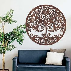 Strom života Orient - Dekorácia z dreva Basket, Home Decor, Decoration Home, Room Decor, Home Interior Design, Home Decoration, Interior Design