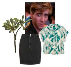 """""""Teens in the 1980s"""" by sarahkparker ❤ liked on Polyvore featuring J.Crew, CB2 and Topshop"""