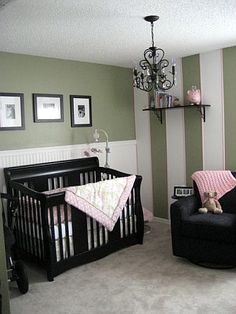 Make it with purple accents and put a nice white rug down and it would be perfect! Cant wait to have a nursery to decorate! Got a while though ;)