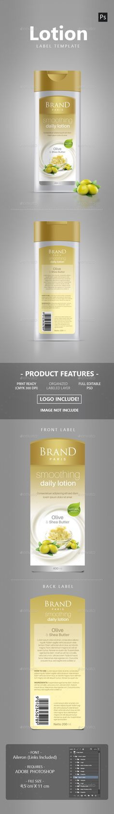 Supplement Label Template   Label Templates Print Templates