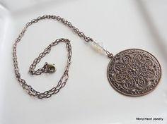 Simple Brass Necklace Design