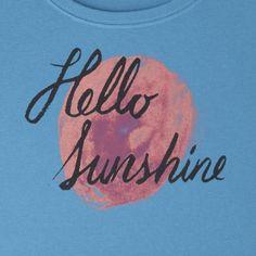 Women's Hello Sunshine Sun Crusher Scoop