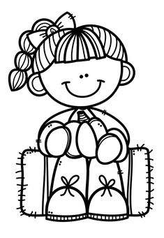 Cartoon Drawings, Drawing Sketches, Clipart Black And White, Drawing For Kids, Coloring For Kids, Colouring Pages, Digital Stamps, Outline, Preschool