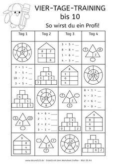 Mathe ist einfach: großes 1x1 als Karteikarten zum Ausdrucken ...