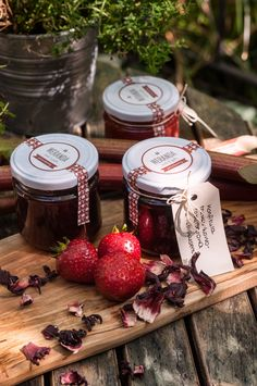 #strawberry #jam #spices #homemade #deli