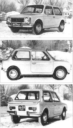 OG | VAZ-E1101 / ВАЗ-E2101 / Lada E1101 | Prototype dated 1971