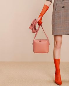 Box Bag in Blush. #mlouye