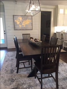 Steel X Base Table with a jointed top in Vintage Dark Walnut stain looks great with 6 Jane Dining Chairs.  Click to start shopping Dining Room furniture! Solid Wood Furniture, Custom Built Dining, Custom Built Furniture, Steel and Wood, Solid Steel, Solid Wood, Dining, Chairs, Solid Wood Chairs
