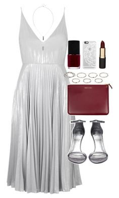 """""""Outfit for prom"""" by ferned on Polyvore featuring Topshop, Comme des Garçons, Stuart Weitzman, Akira, NARS Cosmetics, Casetify and Mimco"""