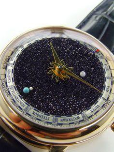 Venus - by Christiaan Van der Klaauw High End Watches, Cool Watches, Casual Watches, Moonphase Watch, Breitling Watches, Luxury Watches For Men, Digital Watch, Quartz Watch, Omega Watch