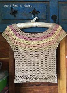 ideas for knitting patterns ladies jumpers cardigans Crochet Cardigan Pattern, Crochet Tunic, Easy Crochet Patterns, Knitting Patterns Free, Crochet Clothes, Débardeurs Au Crochet, Crochet Woman, Crochet Stitches, Free Crochet