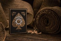The Dieline's Top 20 Playing Card Decks - The Dieline - Artisan Black