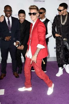 Justin Bieber (Red and White)