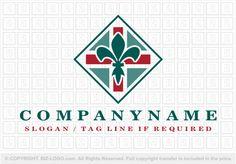Pre-designed logo 1342: Fleur de Lis Logo