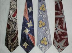Small exhibition of ties 1940s Mens Fashion, Retro Fashion, Vintage Fashion, Timeless Fashion, Men's Fashion, 1940s Outfits, Vintage Outfits, Vintage Clothing, Men's Clothing
