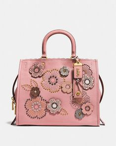 83f666ceee Coach Rogue With Snakeskin Tea Rose Rivets News Finance
