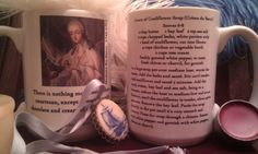 15oz Large Soup Coffee  Mug With Madame Du Barry, And Her Own Aphrodisiac Famous Recipe For Soup