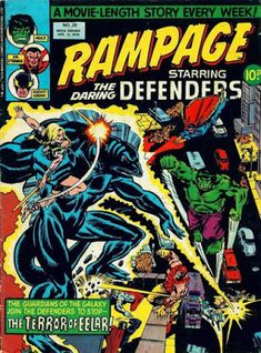 Rampage #26, the Defenders