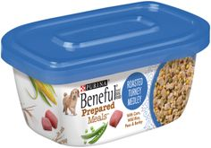 Sale $1.25 - Purina Beneful Prepared Meals Roasted Turkey Medley Dog Food 10 Ounce Plastic Tub