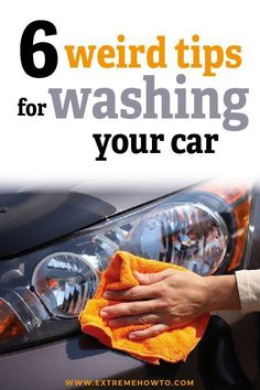 6 Car Washing Hacks | Automotive Maintenance DIY | Garage Projects | Learn more at extremehowto.com #auto #diy