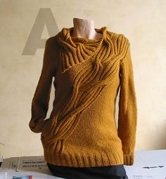 Ravelry: wrapped pullover by atelier alfa