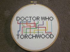 DoctorWho... Torchwood........THEYRE ANAGRAMS?!?!