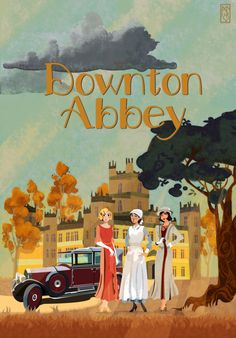 Downton Abbey by LaDameduWarren.deviantart.com on @DeviantArt