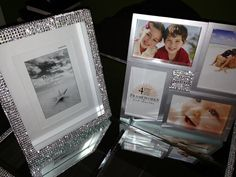 Bling Rhinestone Wedding Picture Frames by ThisNThatBling on Etsy, $30.00 Wedding Picture Frames, Wedding Pictures, Rhinestone Wedding, Bling, Etsy, Decor, Decoration, Decorating, Wedding Frames