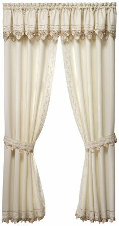 Today's Curtain Regal Reverse Embroidery 14-Inch Valance, Ecru / Peach by Today's Curtain. Save 31 Off!. $18.60. Coordinated tiers and panel pairs available. Fine reverse embroidery. Intricate cutwork. Textured fabric. 100% Polyester. Engineered scallop edge. Regal Window Curtain Collection by Today's Curtain, features fine reverse embroidery, multi color trims, rich cutwork, textured fabric, engineered scallop bottom, all polyester, easy care, machine washable, Select multiple pieces of…