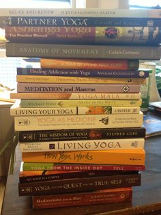 Yoga books. All of them.