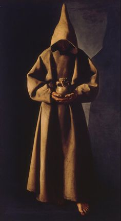 Francis Of Assisi, St Francis, Religious Paintings, Religious Art, Caravaggio, Chiaroscuro, Francisco Zurbaran, Milwaukee Art Museum, Haitian Art