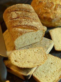 OOCH! Obłędny Orkiszowy CHleb - zdrowy, powszedni chleb: Pyszny chleb z grubą skórką i wspaniałym, lekko wilgotnym miąższem. Ma...