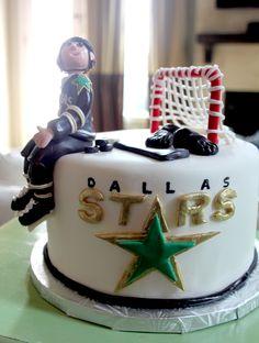 Dallas Stars Cake